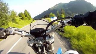10. Husaberg FS 570 Supermoto / mountain fun / GoPro Hero.mov