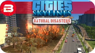 Cities Skylines Natural Disasters Gameplay - WORST EARTHQUAKE ZONE!!! (Hard Scenario) #26