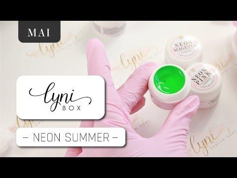 Nageldesign - NEON-Fever  Lynibox Mai