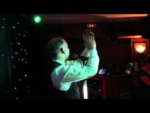 Tony Kay Tenerife - Gary Barlow Tribute - Never Forget - Highland Paddy - 15-5-15