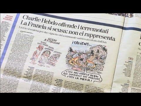 Ιταλία: Οργή για το εξώφυλλο του Charlie Hebdo που δείχνει τους νεκρούς από το σεισμό να έχουν…