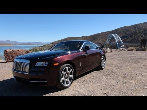 2014 Rolls-Royce Wraith 0-60 MPH First Drive Review