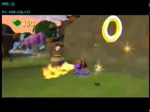 how to play spyro enter the dragonfly on pcsx2