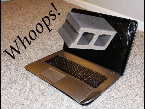 HP Limited Edition Laptop VS Concrete! (Drop Test)