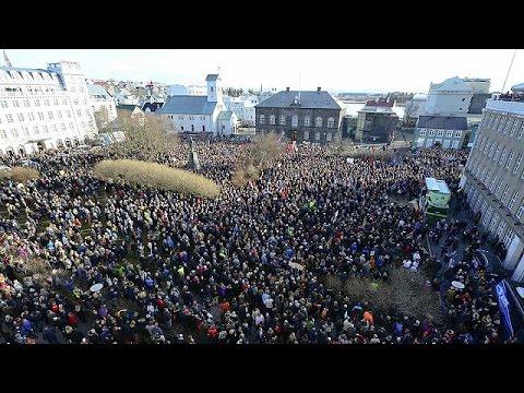 Ισλανδία: Διαδηλώσεις κατά του πρωθυπουργού λόγω Panama Papers
