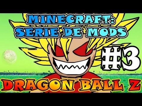 Minecraft | DRAGON BALL Z | Serie de MODS - Ep#3 | �Armadura De Sayay�n! D