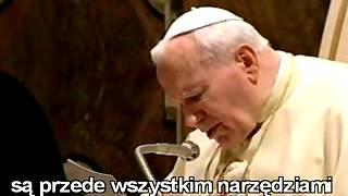 FILM: Jan Paweł II do wiernych Opus Dei