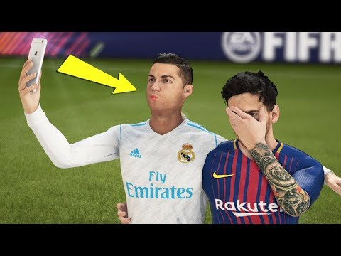 Best FIFA 18 FAILS ● Glitches, Goals, Skills ● #5 (видео)