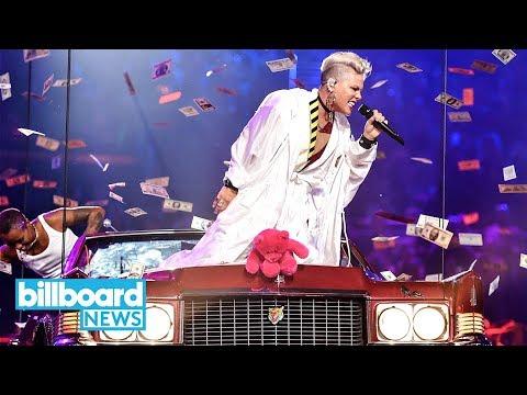 Pink Gives Eye-Popping Performance & Heartfelt Acceptance Speech at 2017 MTV VMAs | Billboard News