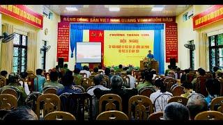 Tập huấn nghiệp vụ PCCC cho lực lượng dân phòng, đội PCCC cơ sở phường Thanh Sơn