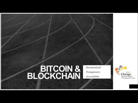 ChicagoMSDC Webinar Bitcoin and Blockchain
