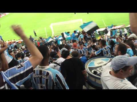 Banda geral do grêmio entrada Gremio X Campinense 15/04 - Geral do Grêmio - Grêmio