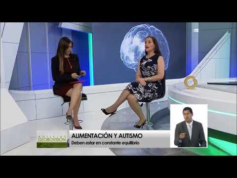 Autismo y Nutricion por Nutricionista Rosisella Puglisi en noticias salud globovision