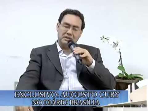 EX-ateu Augusto Cury, fala como se tornou Cristao!