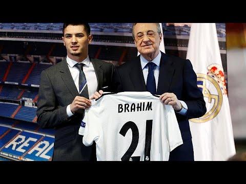 Μπραχίμ Ντίαθ: Κάποτε ball boy, σήμερα στη Ρεάλ Μαδρίτης