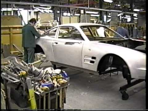 Aston Martin Factory tour Building the Virage
