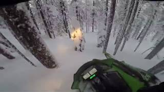 8. Arctic Cat M6000 - Treeriding