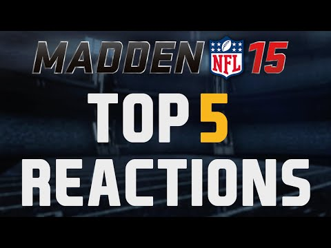 15 - Welcome to my brand new series where I will be doing a top 5 countdown of some of the best pack-opening reactions for MUT 15 sent in by my viewers. ▻ The Reactions 5.