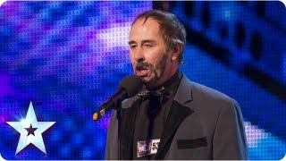 Steve Jackson with his musical impressions - Week 3 Auditions |  Britain's Got Talent 2013