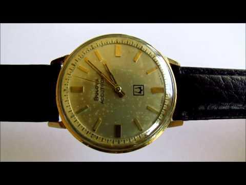 , title : 'Bulova Accutron M6 vintage  wristwatch'