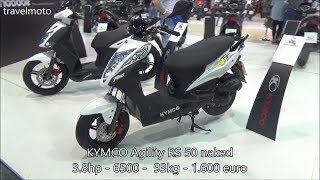 10. The KYMCO Agility RS 50cc scooter 2017