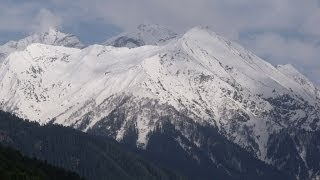 Pahalgam India  city images : Beautiful Aru Valley At Pahalgam, Kashmir, India HD Video