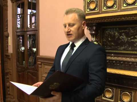 Moldovan president awards two European officials