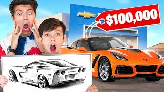 Video You Draw, I Buy It Challenge with My Family! MP3, 3GP, MP4, WEBM, AVI, FLV Juni 2019