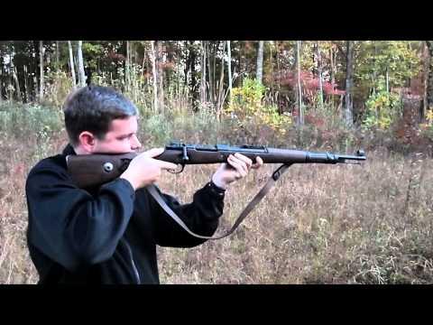 Mauser K98k Shooting