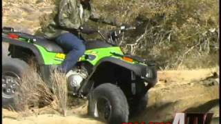 9. ATV Television - 2003 Arctic Cat 400i Test