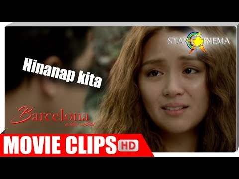 Aalis na si Mia (Kathryn). | Barcelona: A Love Untold | Movie Clips