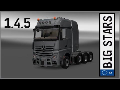 Mercedes-Benz Big Stars Actros/Arocs SLT v1.4.5