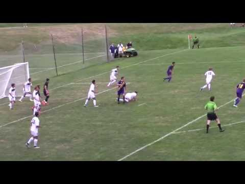 Men's Soccer Trinity highlights 9/12/15