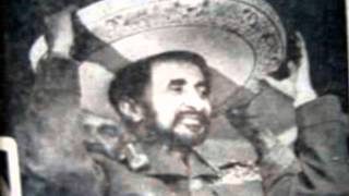 Haile Selassie Visit To Mexico-only Members To Condemn Fascist Italy!