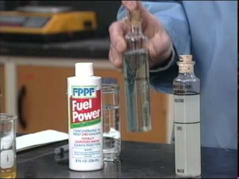 FPPF Fuel Power – Water Dispersion In Actual Fuel