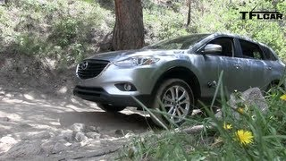 2013 Mazda CX-9 Colorado Rockies Off-Road Drive And Review