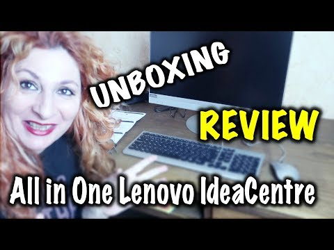 All in One Lenovo UNBOXING, REVIEW primeras impresiones
