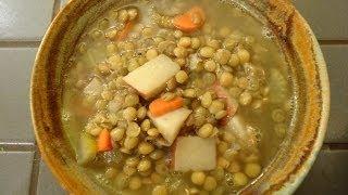 Greek Lentil Soup Recipe - Episode 2 - Reveena's Kitchen