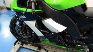 10. 2009 Kawasaki ZX10R Green - used motorcycle for sale - Eden Prairie, MN