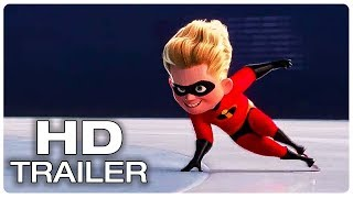 Incredibles 2 Movie Clip Dash's Incredible Speed + Trailer NEW (2018) Superhero Movie Trailer HD