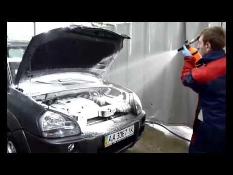 Помыть двигатель видео