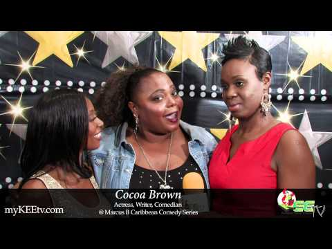 Comedian Cocoa Brown chats with myKEEtv.com @ MB Caribbean Comedy Series