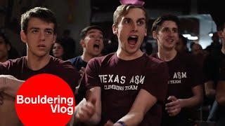 College Bouldering Competition - Armadillo Boulders - San Antonio, TX by Bouldering Vlog