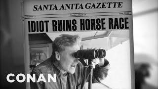 Video Conan Calls A Santa Anita Horse Race MP3, 3GP, MP4, WEBM, AVI, FLV Februari 2019