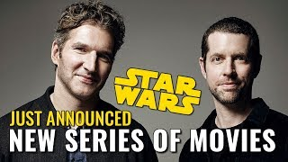 Video New series of Star Wars films announced with Game of Thrones writers MP3, 3GP, MP4, WEBM, AVI, FLV Maret 2018