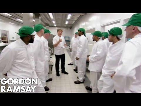 Gordon Ramsay & His Prison Brigade Cook For The Entire Prison | Gordon Behind Bars