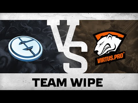 Team wipe by EG vs Virtus.Pro @Dota Pit League Season 3