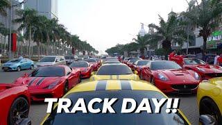 Video FERRARI TRACK DAY DI BSD | CARVLOG 026 (INDONESIA) MP3, 3GP, MP4, WEBM, AVI, FLV Februari 2018