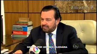 04/07/2015 Balanço Geral Advogado Djalma Rezende fala sobre disputa por herança bilionária