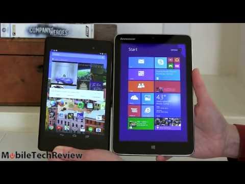 Lenovo MiiX2-8 -- 8″ Ecran IPS Windows 8.1 Intel Atom Z3740 Quad-core Tablette